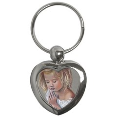 Prayinggirl Key Chain (Heart)