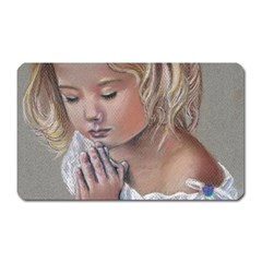 Prayinggirl Magnet (Rectangular)