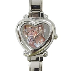 Prayinggirl Heart Italian Charm Watch