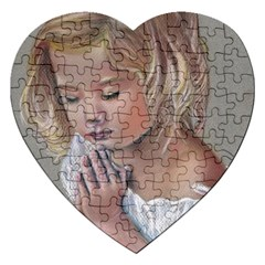 Prayinggirl Jigsaw Puzzle (Heart)