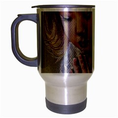 Prayinggirl Travel Mug (Silver Gray)