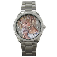 Prayinggirl Sport Metal Watch