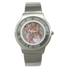 Prayinggirl Stainless Steel Watch (Slim)