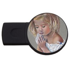 Prayinggirl 4GB USB Flash Drive (Round)