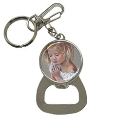 Prayinggirl Bottle Opener Key Chain