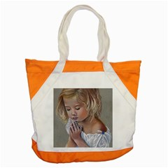 Prayinggirl Accent Tote Bag
