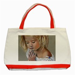 Prayinggirl Classic Tote Bag (Red)