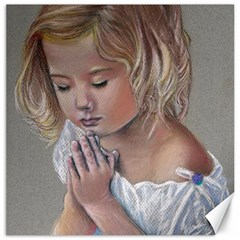 Prayinggirl Canvas 12  x 12  (Unframed)