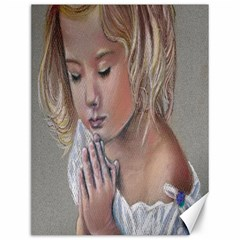 Prayinggirl Canvas 12  x 16  (Unframed)