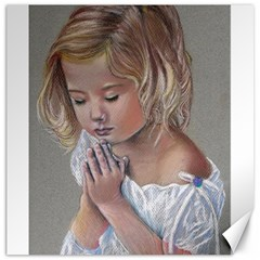 Prayinggirl Canvas 20  x 20  (Unframed)