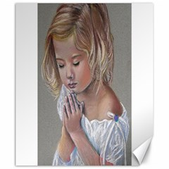 Prayinggirl Canvas 20  x 24  (Unframed)