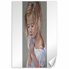 Prayinggirl Canvas 20  x 30  (Unframed)