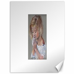 Prayinggirl Canvas 36  x 48  (Unframed)