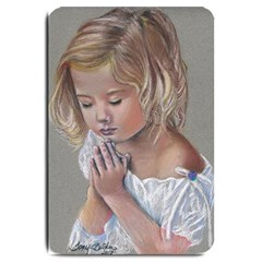Prayinggirl Large Door Mat