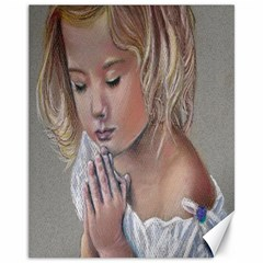 Prayinggirl Canvas 11  x 14  (Unframed)