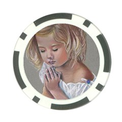 Prayinggirl Poker Chip