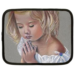 Prayinggirl Netbook Sleeve (Large)