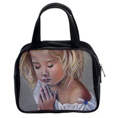 Prayinggirl Classic Handbag (Two Sides)