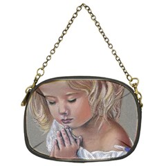 Prayinggirl Chain Purse (One Side)