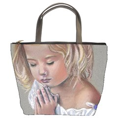 Prayinggirl Bucket Handbag