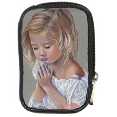 Prayinggirl Compact Camera Leather Case