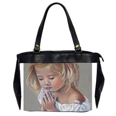 Prayinggirl Oversize Office Handbag (Two Sides)