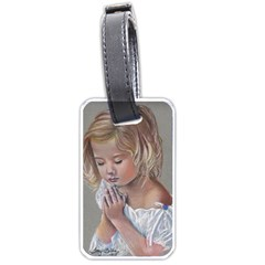 Prayinggirl Luggage Tag (One Side)