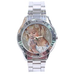 Prayinggirl Stainless Steel Watch