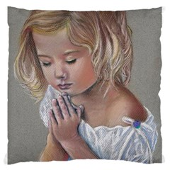 Prayinggirl Large Cushion Case (Two Sided)