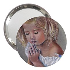 Prayinggirl 3  Handbag Mirror
