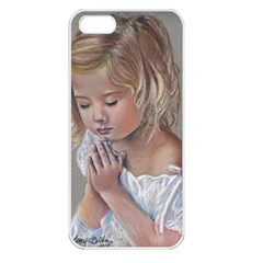 Prayinggirl Apple iPhone 5 Seamless Case (White)