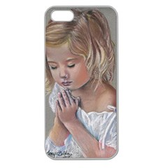 Prayinggirl Apple Seamless iPhone 5 Case (Clear)