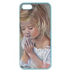 Prayinggirl Apple Seamless Iphone 5 Case (color) by TonyaButcher