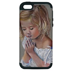 Prayinggirl Apple iPhone 5 Hardshell Case (PC+Silicone)