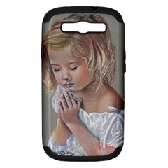 Prayinggirl Samsung Galaxy S III Hardshell Case (PC+Silicone)
