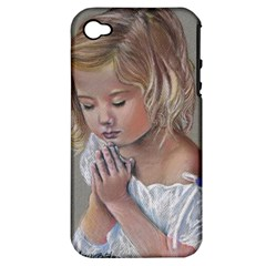 Prayinggirl Apple iPhone 4/4S Hardshell Case (PC+Silicone)