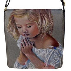 Prayinggirl Flap Closure Messenger Bag (Small)