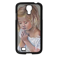 Prayinggirl Samsung Galaxy S4 I9500/ I9505 Case (Black)