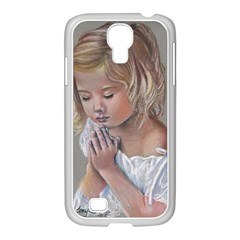 Prayinggirl Samsung GALAXY S4 I9500/ I9505 Case (White)