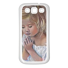 Prayinggirl Samsung Galaxy S3 Back Case (White)
