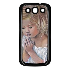 Prayinggirl Samsung Galaxy S3 Back Case (Black)