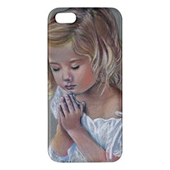 Prayinggirl iPhone 5S Premium Hardshell Case