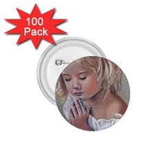 Prayinggirl 1 75  Button (100 Pack)
