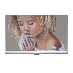 Prayinggirl Business Card Holder by TonyaButcher