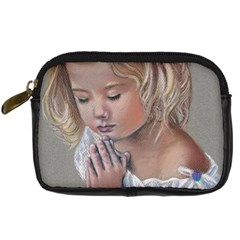 Prayinggirl Digital Camera Leather Case by TonyaButcher