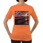 Pier At Midnight Women s T-shirt (Colored) Front