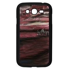 Pier At Midnight Samsung Galaxy Grand Duos I9082 Case (black)