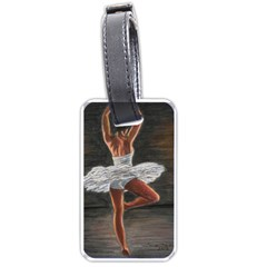 Ballet Ballet Luggage Tag (one Side) by TonyaButcher