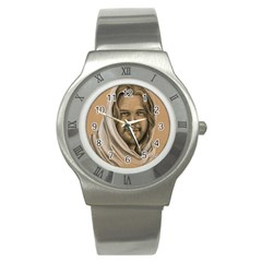 Messiah Stainless Steel Watch (slim)