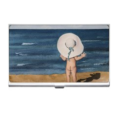 Mom s White Hat Business Card Holder by TonyaButcher
